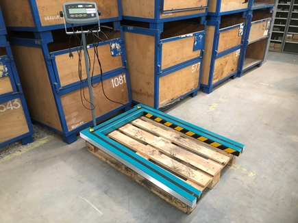 Digitale palletweegschaal tot 600kg